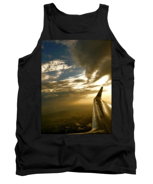 Flying Clouds By David Pucciarelli Tank Top