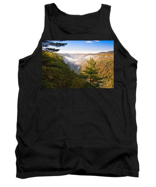 Fog Over The Canyon Tank Top