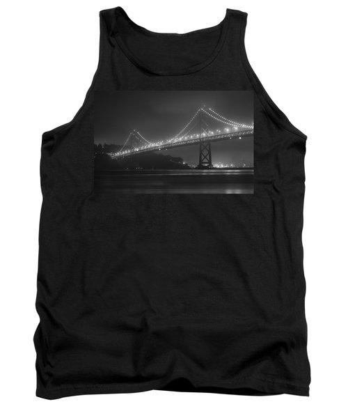 Foggy Bay Bridge Tank Top