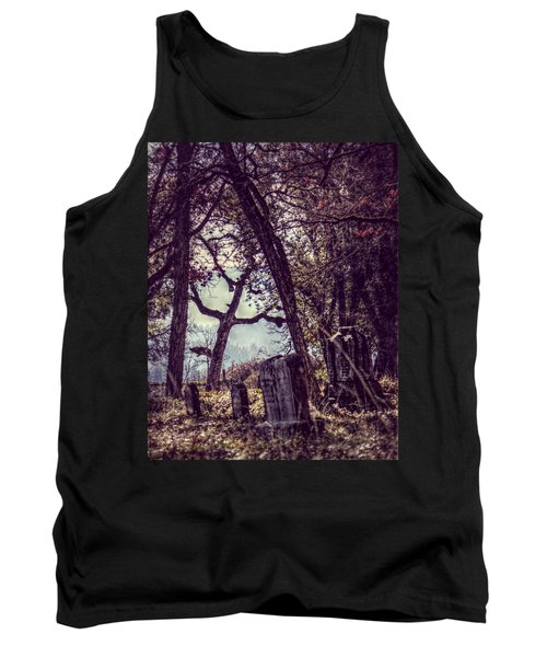 Tank Top featuring the photograph Foggy Memories by Melanie Lankford Photography