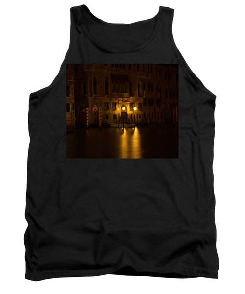 Follow Me Across The Water And Time Tank Top by Alex Lapidus