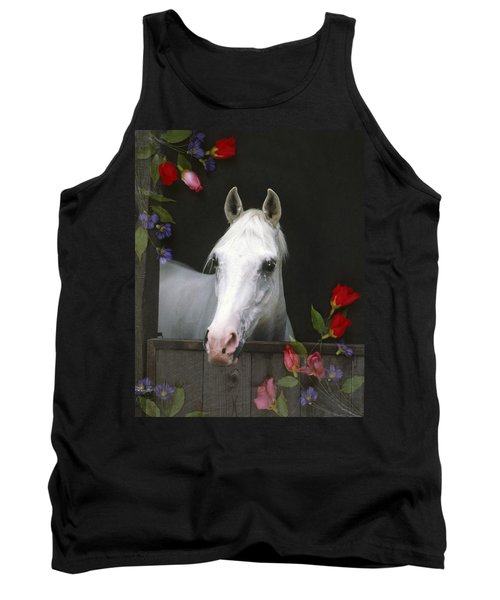 For The Roses Tank Top by Melinda Hughes-Berland