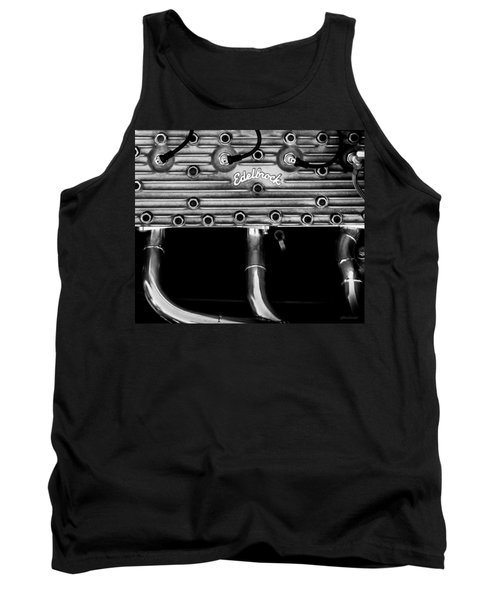 Tank Top featuring the photograph Ford Flathead-v8 by Steven Milner