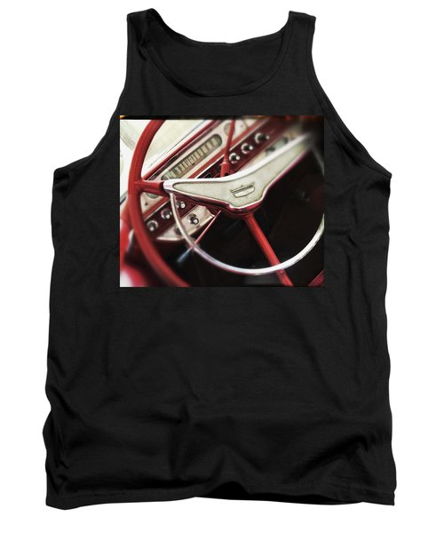 Tank Top featuring the photograph Ford Sunliner by Bradley R Youngberg