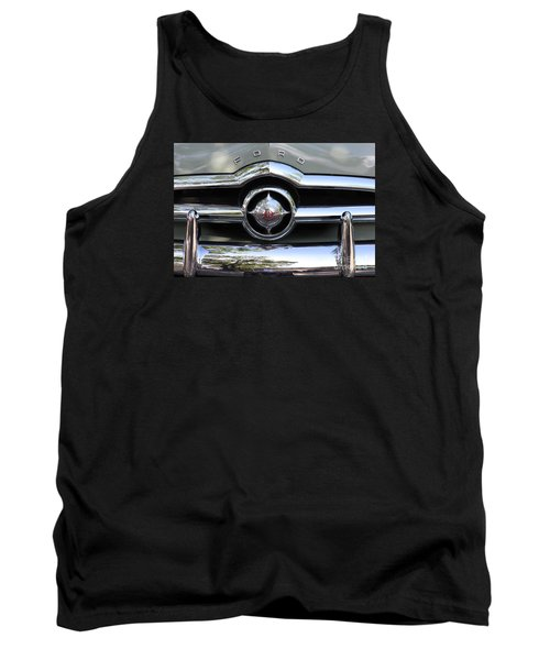 Ford V8 1949 - Vintage Tank Top by The Art of Alice Terrill