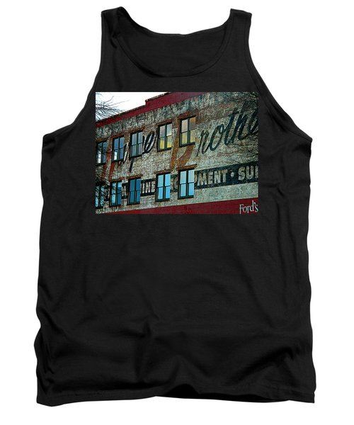Fords Restaurant In Greenville Sc Tank Top by Kathy Barney