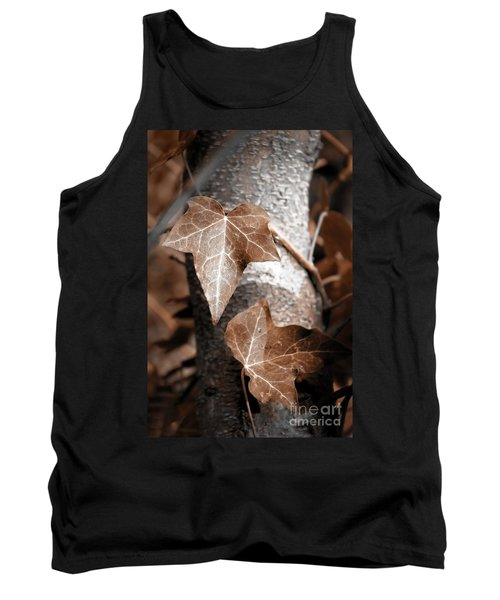 Tank Top featuring the photograph Forever Entwined by Ellen Cotton