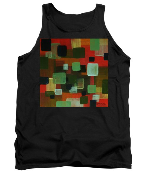 Forms Tank Top by Barbara St Jean