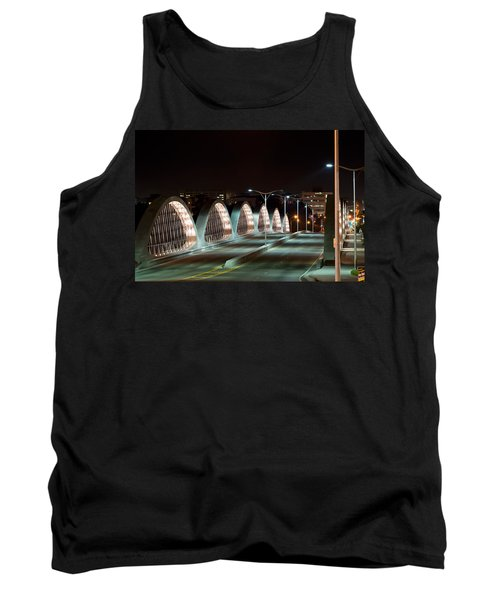 Fort Worth Seventh Street Bridge Oct 10 2014 Tank Top
