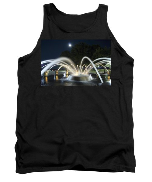 Fountain Charleston Waterfront Park Tank Top