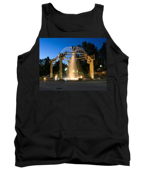 Fountain In Riverfront Park Tank Top