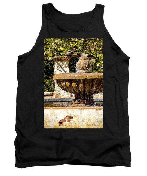 Tank Top featuring the photograph Fountain Of Beauty by Peggy Hughes