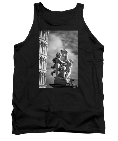 Fountain With Angels Tank Top