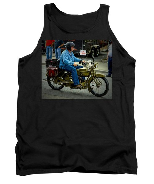 Four Cylinder Henderson Motorcycle Tank Top