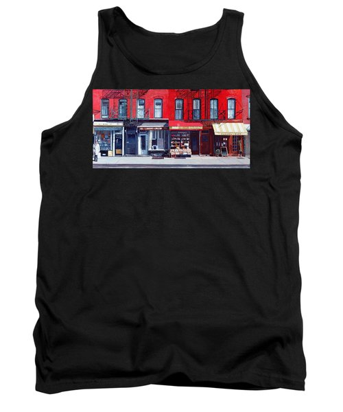 Four Shops On 11th Ave Tank Top
