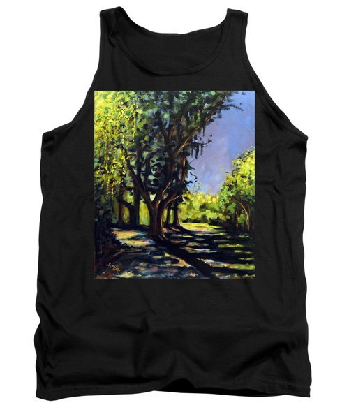 Foxgrapes And A Sandy Road Tank Top
