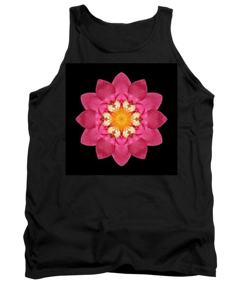 Fragaria Flower Mandala Tank Top