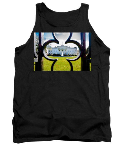Framed Whitehouse Tank Top by Greg Fortier