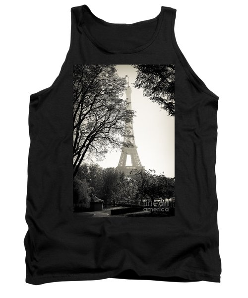 The Eiffel Tower Paris France Tank Top