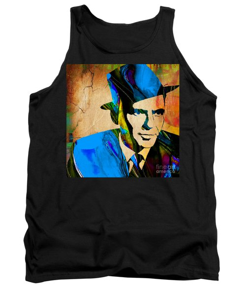 Frank Sinatra My Way Tank Top by Marvin Blaine