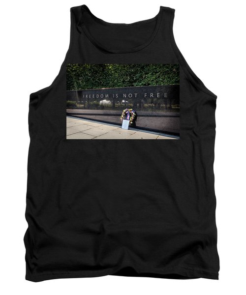 Freedom Is Not Free Tank Top by Sennie Pierson