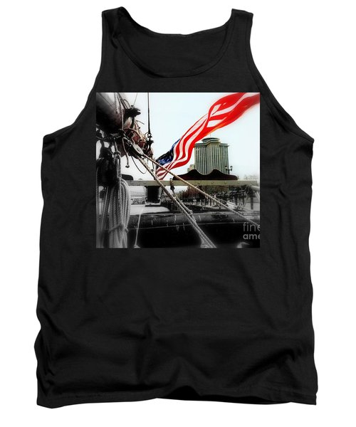 Freedom Sails Tank Top by Michael Hoard