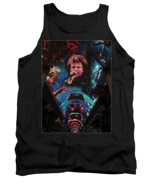 Fremont Street Experience Tank Top by Kay Novy