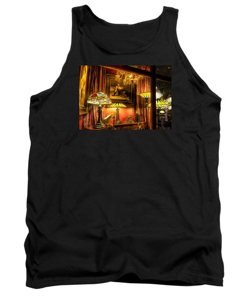 Tank Top featuring the photograph French Quarter Ambiance by Tim Stanley