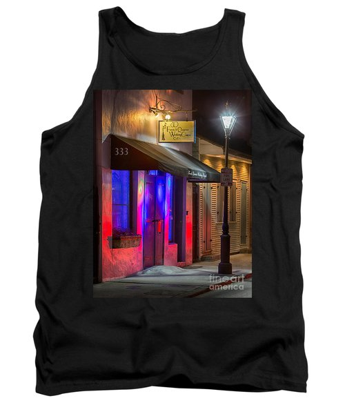French Quarter Wedding Chapel Tank Top by Jerry Fornarotto
