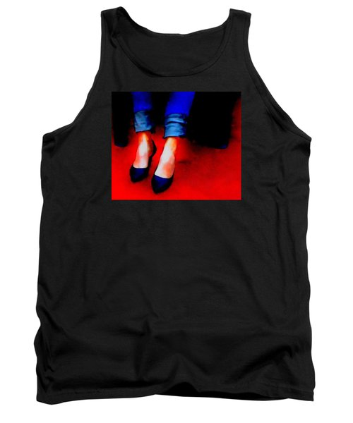 Tank Top featuring the photograph Friday Wear by Lisa Kaiser