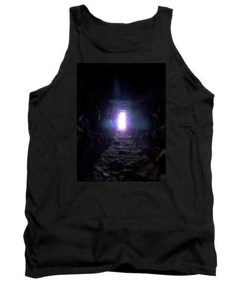 Tank Top featuring the photograph From Dark To Bright by Marc Philippe Joly