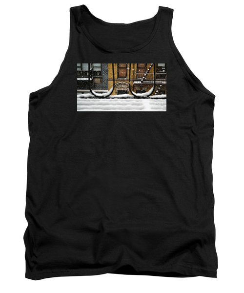 From My Fire Escape - Arches In The Snow Tank Top