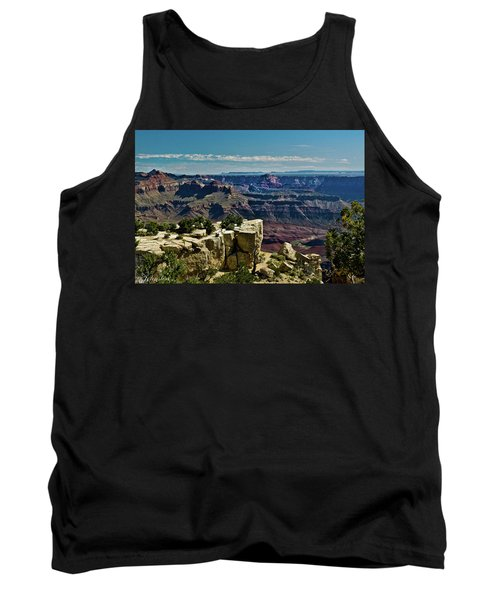 Tank Top featuring the photograph From Yaki Point 2 Grand Canyon by Bob and Nadine Johnston