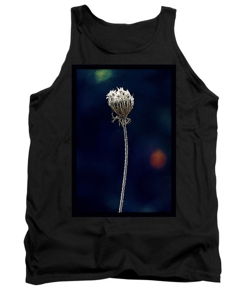 Tank Top featuring the photograph Frozen Warmth by Melanie Lankford Photography