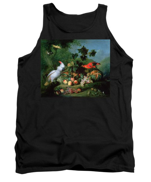 Fruit And Birds Tank Top