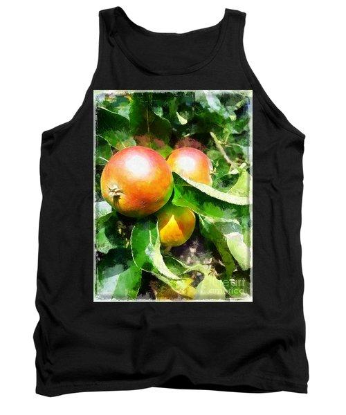 Fugly Manor Apples Tank Top