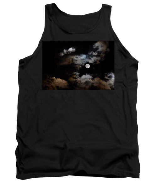 Full Moon After The Storm Tank Top