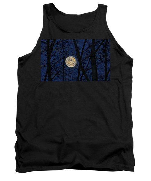 Full Moon March 15 2014 Tank Top