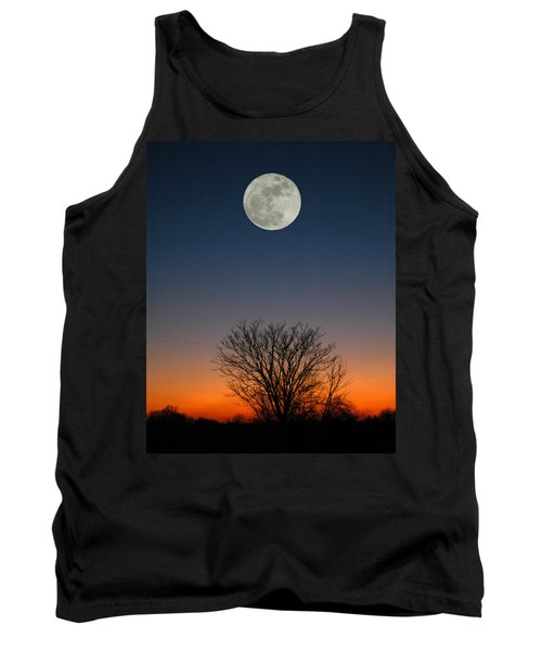 Full Moon Rising Tank Top