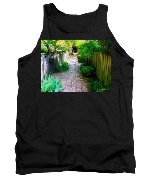 Garden Alley Tank Top by Brian Wallace
