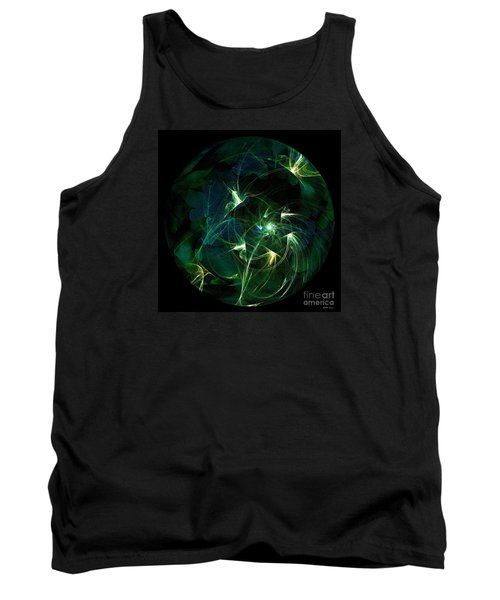 Garden Sprites Come At Night Tank Top by Elizabeth McTaggart