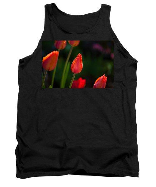 Garden Tulips Tank Top