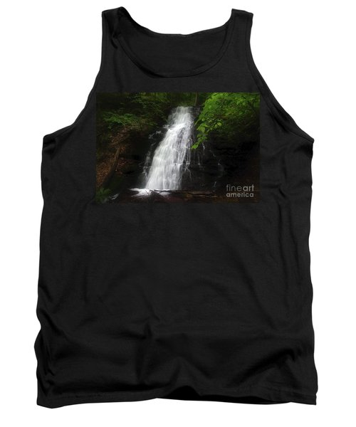 Tank Top featuring the photograph Garvey Spring Falls by Debra Fedchin