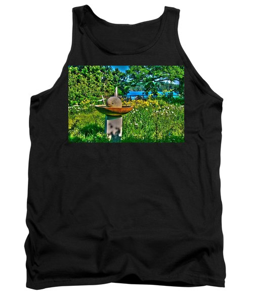 Gazing Ball Tank Top
