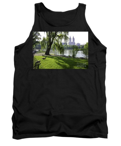 Geese In Central Park Nyc Tank Top