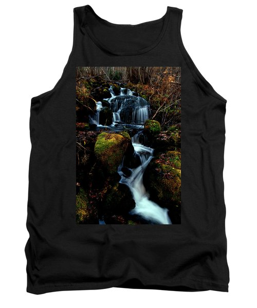 Tank Top featuring the photograph Gentle Descent by Jeremy Rhoades