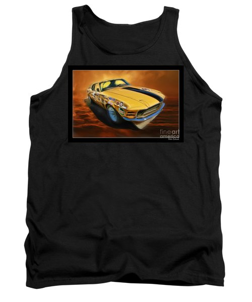 George Follmer 1970 Boss 302 Ford Mustang Tank Top