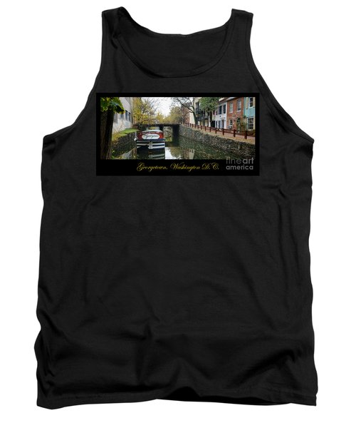 Georgetown Canal Poster Tank Top