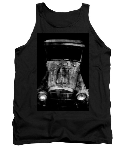 Classic Car Tank Top featuring the photograph Ghost Of 1929 by Aaron Berg