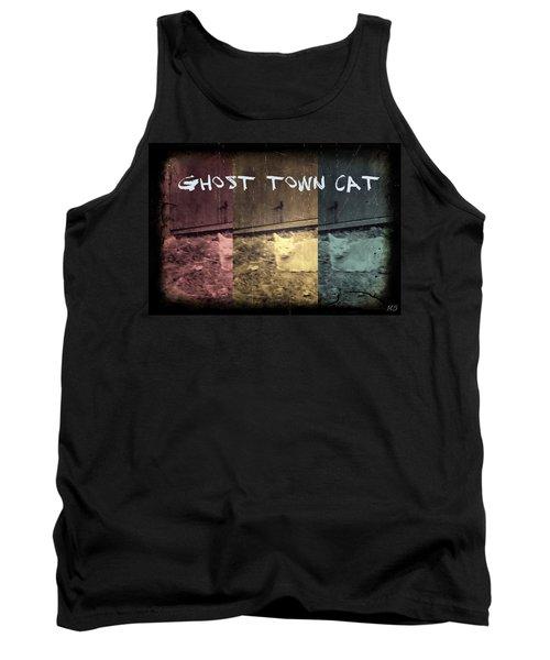 Ghost Town Cat Tank Top by Absinthe Art By Michelle LeAnn Scott